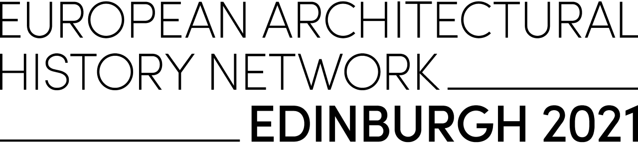 European Architectural History Network Edinburgh 2021 Conference logo