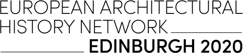 European Architectural History Network Edinburgh 2020 Conference logo